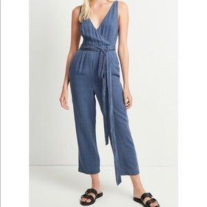 NWT | FCUK | Striped Julienne Jumpsuit